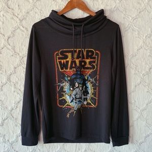 Fifth Sun Star Wars Cowl Neck Sweater